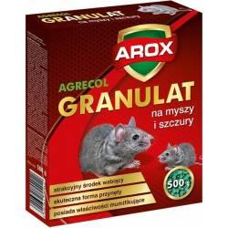 Arox 500g Granulat na myszy i szczury skuteczna trutka na gryzonie