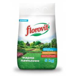 Florovit 5kg Wapno nawozowe granulowane skutecznie odkwasza glebę