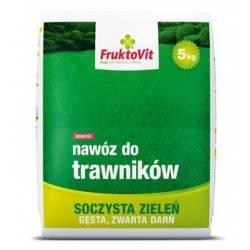 Fruktovit Plus 5kg Nawóz do trawników soczysta zieleń gęsta darń