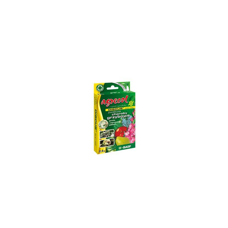 Discus 500 WG  2,5g Środek grzybobójczy parch i mączniak jabłoni Agrecol