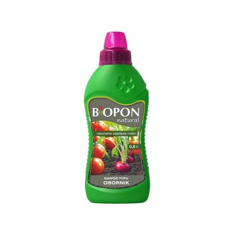 Biopon Natural 0,5l Nawóz typu obornik naturalne zasilanie roślin