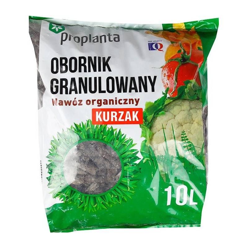 Obornik 10l Kurzak kurzy granulowany nawóz naturalny ekologiczny pomiot