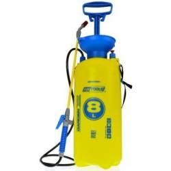 AWTools 8l GS AW60004 Żółty opryskiwacz ciśnieniowy ręczny ogrodowy z lancą