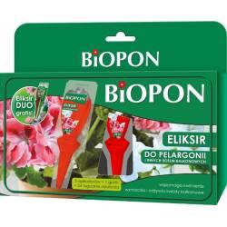 Biopon 5x35ml + 1gratis Eliksir nawóz do pelargonii i innych balkonowych