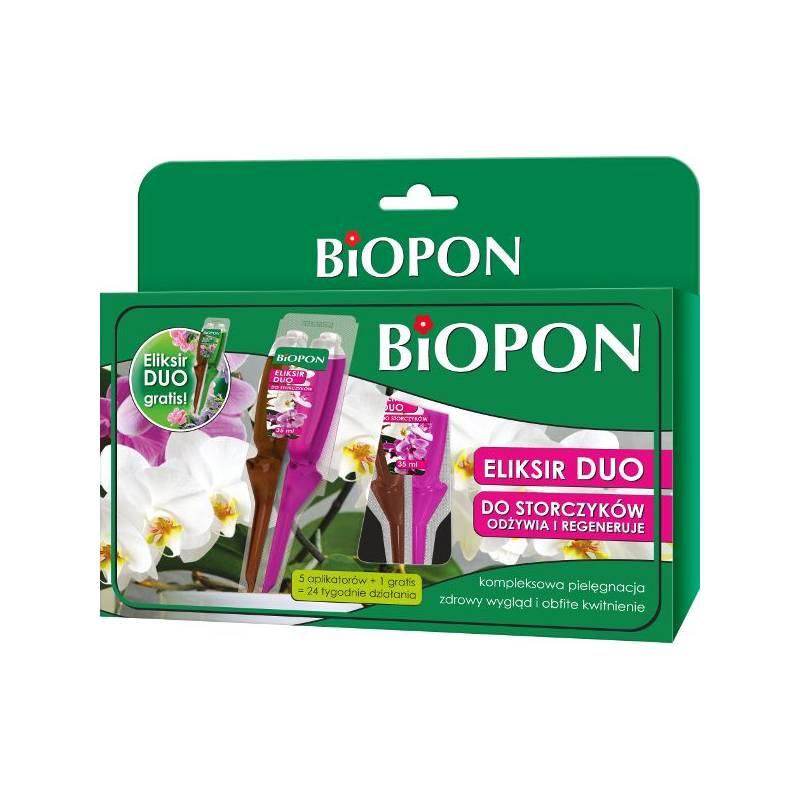 Biopon 5x35ml+1 gratis Eliksir Duo do storczyków odżywia i regeneruje