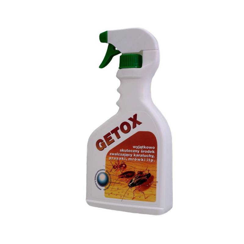 Getox 600ml Płyn na karaluchy prusaki mrówki mocna dawka