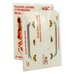 ABC 2szt. Pułapka lepowa na mole spożywcze z feromonem lep do kuchni