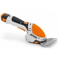 STIHL Akumulatorowe nożyce HSA 25 do cięcia krzewów, trawy z akumulatorem i ładowarką