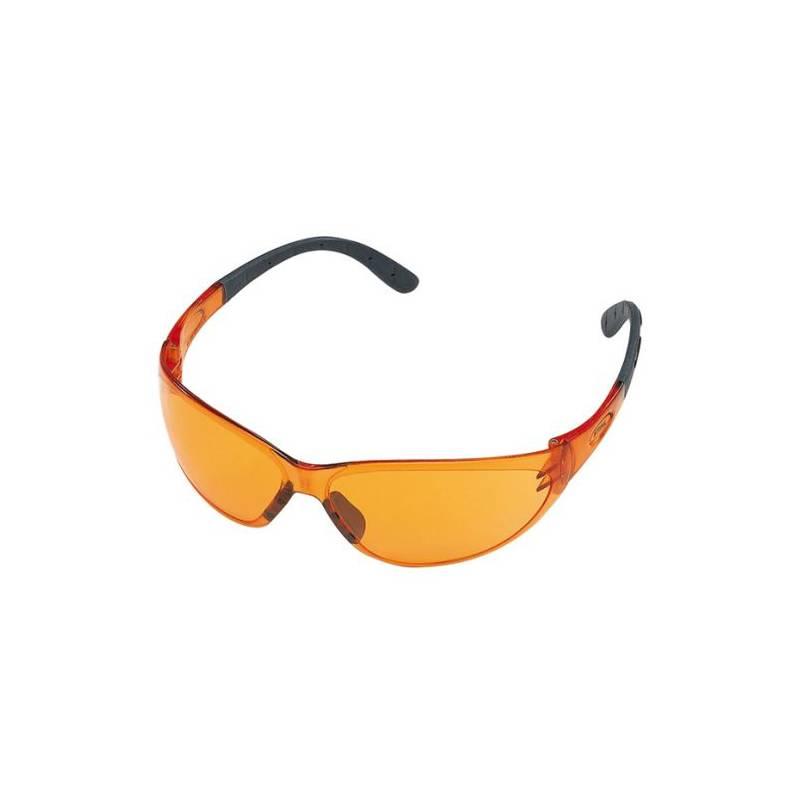 STIHL Okulary ochronne pomarańczowe CONTRAST