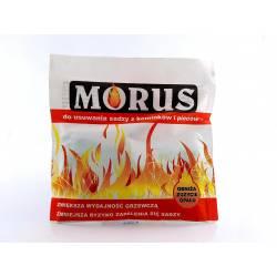 Bros 50g Morus Preparat do usuwania czyszczenia sadzy nagaru z kominków pieców