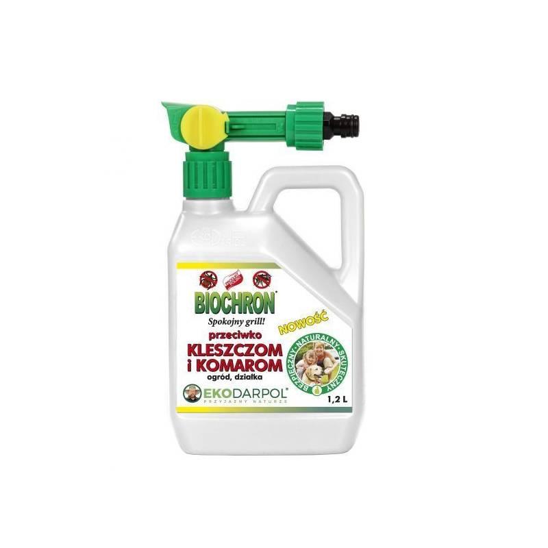 Ekodarpol 1,2l Biochron przeciw komarom i kleszczom SPRAY + podpałka 200 kostek gratis