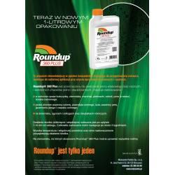 Roundup 360 PLUS 2L + 2KG Siarczanu Amonu randap rundap rondap