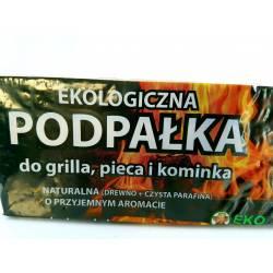 Ekodarpol 160 kostek +40 gratis Podpałka do grilla rozpałka ekologiczna w kostkach
