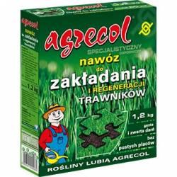 Agrecol 1,2kg Specjalistyczny nawóz do zakładania i regeneracji trawników