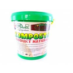 Ekodarpol 1 l Komposter BIO bakterie do kompostu Przyspiesza rozkład