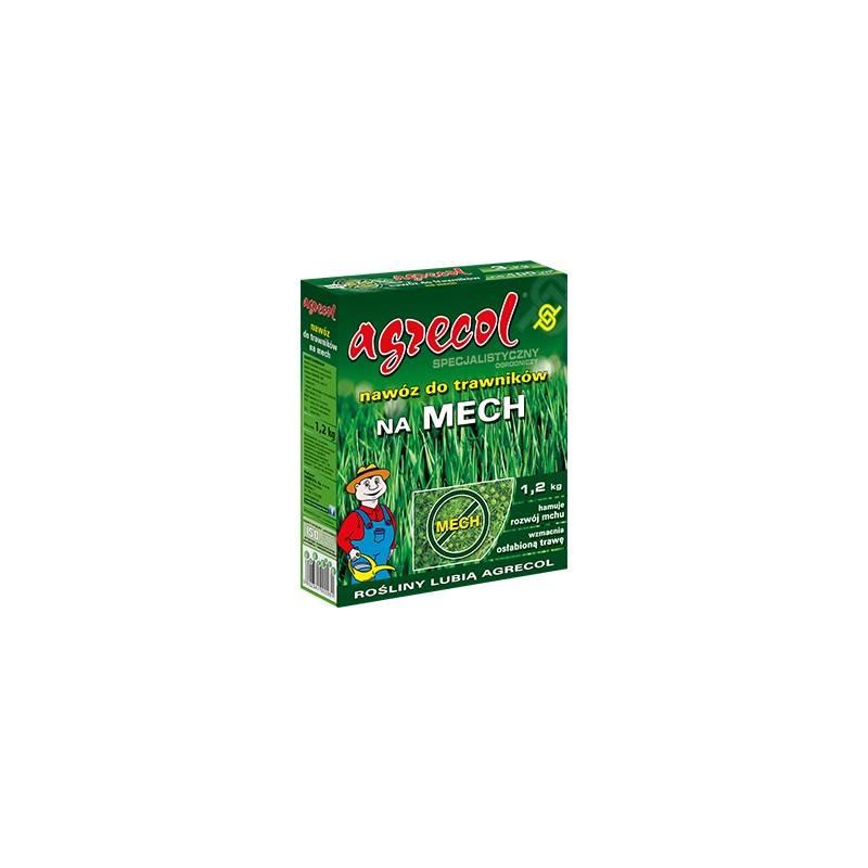 Agrecol 1,2kg Nawóz do trawników z mchem anty mech z żelazem