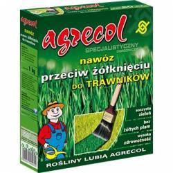 Agrecol 1kg Specjalistyczny nawóz przeciw żółknięciu do trawników