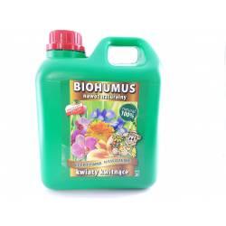 Ekodarpol 2l Biohumus do kwiatów kwitnących dobry nawóz BIO EKO odżywka naturalna