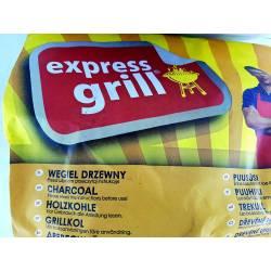 Mirand 2KG WĘGIEL DRZEWNY Express Grill podpałka ekologiczny Białowieski