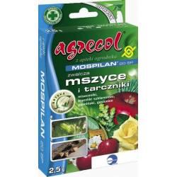 Agrecol 2,5g Mospilan 20 SP Środek owadobójczy mszyce opuchlaki czerwce biedronki azjatyckie