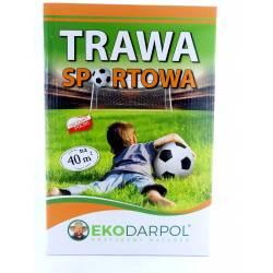 Ekodarpol 1kg Trawa Sportowa boiskowa gazonowa nasiona mieszanka trawnikowa murawa opakowanie z siewnikiem