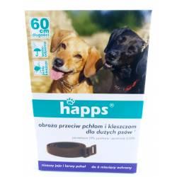 Happs 60cm Obroża przeciw pchłom i kleszczom dla dużych psów ochrona do 6 miesięcy