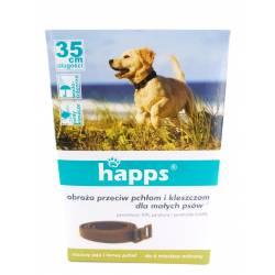Happs 35cm Obroża przeciw pchłom i kleszczom dla małych psów 6 miesięcy ochrony