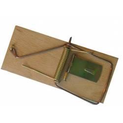 Bros Łapka na myszy drewniana metalowe części łapiące bardzo czuła