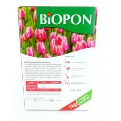 Biopon 1kg Nawóz do roślin cebulowych bylin i kłączy kwiatów tulipanów narcyzów