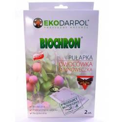 Ekodarpol 2szt. Biochron Pułapka na owocówkę śliwkóweczkę feromonowa lep