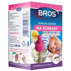 Bros 40ml Płyn do elektro na komary Sensitive ochrona do 60 nocy