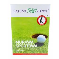 Rolimpex 1kg Trawa Murawa Sportowa z Iławy boiskowa trawnik gazonowa sport nasion
