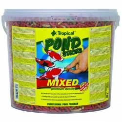 Tropical 450g Pond Sticks Mixed Pokarm Dla Rybek