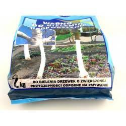 Forte 2 kg Wapno do bielenia drzewek i odkwaszania gleby sypkie wydajne uniwersalne