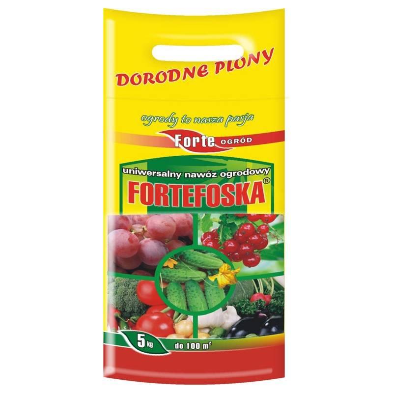 Forte 5kg Fortefoska uniwersalny wieloskładnikowy nawóz ogrodniczy
