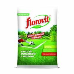 Florovit 10kg Nawóz do trawnika z mchem anty mech żelazo