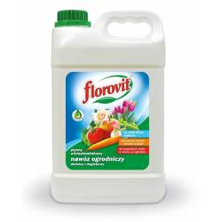 Florovit 2,8kg Płynny nawóz ogrodniczy uniwersalny dolistny i doglebowy