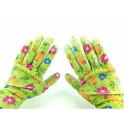 Rękawice ogród flower kwiat modne rozmiar 7 4720G ochronne