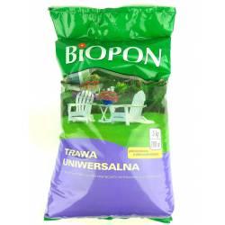 Biopon 5 kg Trawa uniwersalna mieszanka traw wolno rosnących