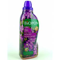 Biopon 0,5l Żel nawóz mineralny do roślin doniczkowych skrzydłokwiat monstera