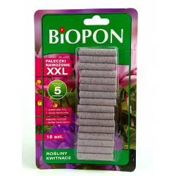Biopon 15szt. Pałeczki nawozowe XXL do roślin kwitnących na 5 miesięcy