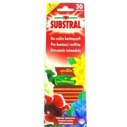 Substral 30szt. pałeczki do roślin kwitnących Vital Activ mocniejsze wybarwienie kwiatów