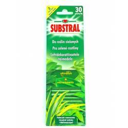 Substral 30szt. Pałeczki Nawozowe do zielonych Vita Plus odżywienie liści