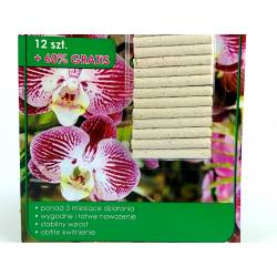 Biopon 20szt. Pałeczki nawozowe do storczyków obfite kwitnienie orchidea