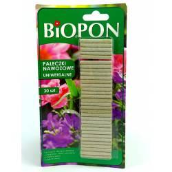 Biopon 30szt. Pałeczki nawozowe uniwersalne działają 100 dni
