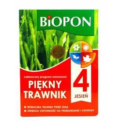 Biopon 2 kg Nawóz trawnikowy piękny trawnik całoroczny program nawozowy