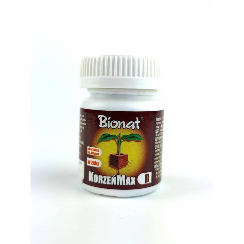 Bionat 20 ml Korzeńmax D Ukorzeniacz do roślin zdrewniałych żel