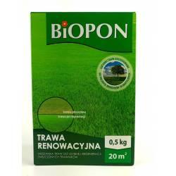 Biopon 0,5 kg Trawa renowacyjna szybka regeneracja trawnika