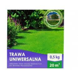 Biopon 0,5 kg Trawa uniwersalna mieszanka traw wolno rosnących