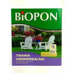 Biopon 1 kg Trawa uniwersalna mieszanka traw wolno rosnących